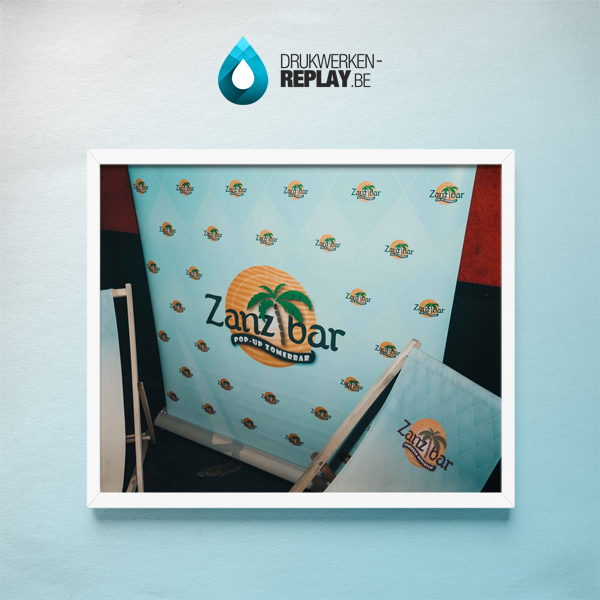 Roll-up Banner foto